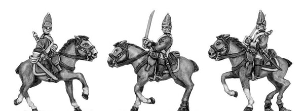 (300SYW560) Horse Grenadier in mitre