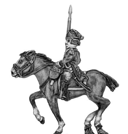 (300SYW568) Light Dragoons standard bearer