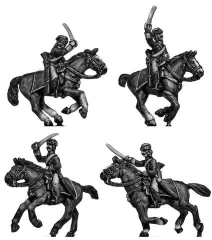 (300WSS171) Catalonian Hungarian hussar trooper