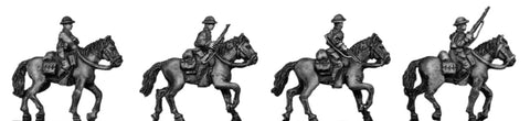(300WWT130) 1941 U.S. cavalry, mounted