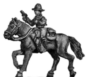 (300WWT131) 1941 U.S. cavalry officer, mounted