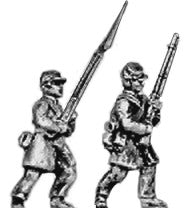 (AB-ACW025) Infantry with cap and frockcoat