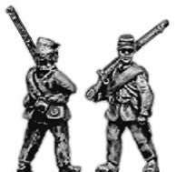 (AB-ACW038) Infantry with cap and sackcoat