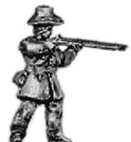 (AB-ACW039) Infantry with hardee hat | firing