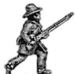 (AB-ACW042) Infantry with hardee hat | running