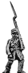 (AB-ACW028)  Infantry with cap and frockcoat | marching