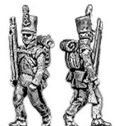 (AB-B30) Light Infantry marching