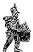 (AB-B33) Light Infantry Drummer