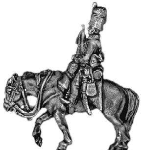 (AB-BC16) Hussar trumpeter | busby