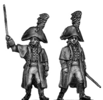 (AB-ER62) Musketeer officer, greatcoat