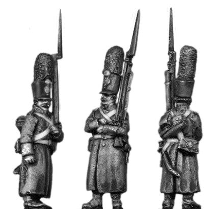 (AB-ER65) Grenadier, shako, greatcoat, march attack