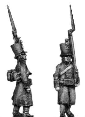 (AB-ER71) Jager, greatcoat marching