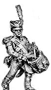 (AB-F13) Light infantry drummer