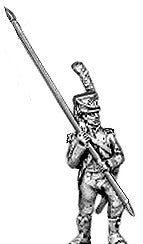 (AB-F14) Light infantry standard bearer