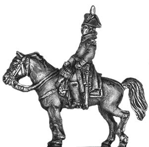 (AB-F59) Mounted officer | greatcoat