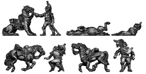 (AB-F70) Cuirassier Casualty set- 8 pieces