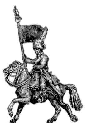 (AB-IG04) Chasseur a Cheval Guidon bearer