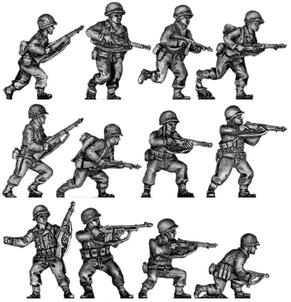 (INA02) Infantry squad, advancing