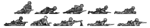 (ING03) Wehrmacht Infantry section prone