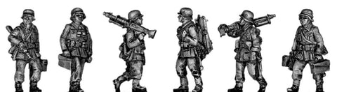 (ING11) Wehrmacht HMG Section Marching