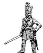 (AB-KK10a) German fusilier officer | shako | standing