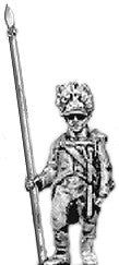 (AB-KK17) German grenadier standard bearer