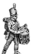 (AB-PR19a) Reserve infantry drummer | English uniform