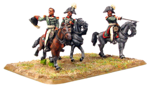 (AB-R25) Russian Staff Officers (3 figures)