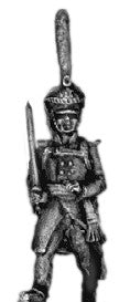 (AB-RG02) Guard infantry officer | shako