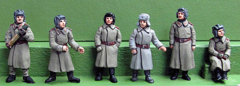(TCS05) NEW SU76 crew/Greatcoat full figures