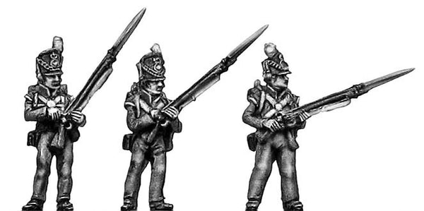 (AB-WB13) Flank Company, standing, port arms