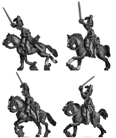 (AB-WBC10) Household Cavalry, charging