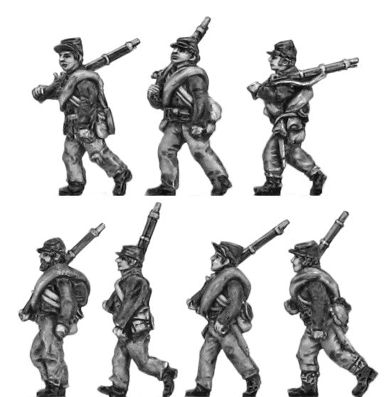 "(AB-ACW019) ""NEW Variants"" Infantry with cap and jacket 