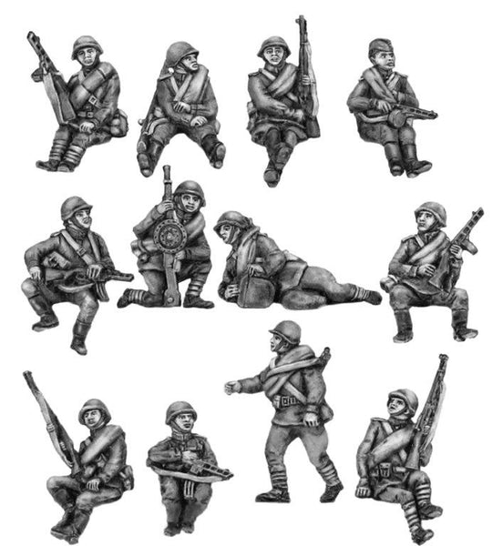(SPS03) NEW! Infantry tank riders- set 2