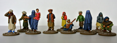 Afghan & Iraqi Civilians 28mm | Eureka Miniatures USA