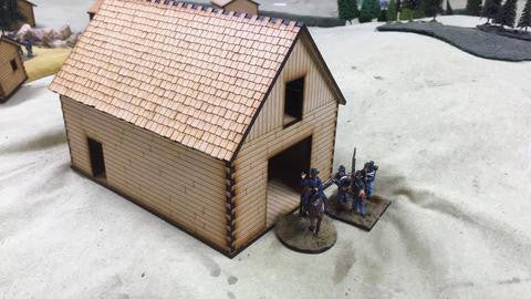 (BAL1094) Barn & Log Cabins Package 28mm