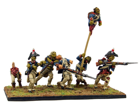 (100FRZ003) Napoleonic French Zombies