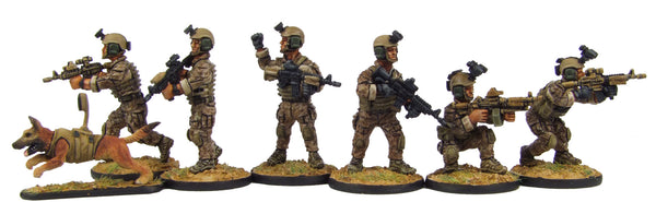 (100MOD062) 28mm SEAL Team Six Set #1