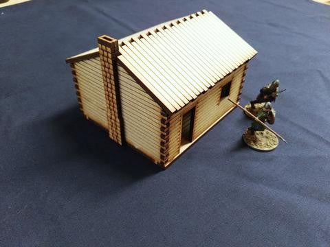 (BAL1091) Log Cabin #2  28mm