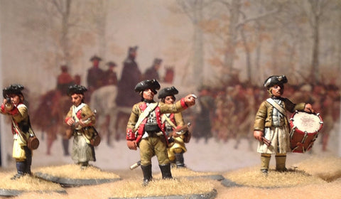 (100AOR001) 1775 Marblehead infantry