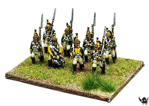 (AB-F83) Foot Dragoons Marching