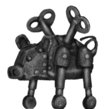 (PAXCC02) Mechanical clockwork pig