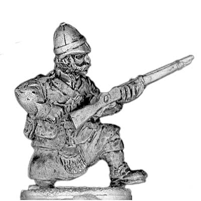(PAXR37) British Highland Regiment kneeling/reloading