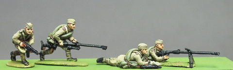 (INS06) Soviet, Caps, PTRD A/T rifle set-4 figures