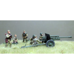 (RTS01) Zis-3 76mm Gun Crew- 6 figures