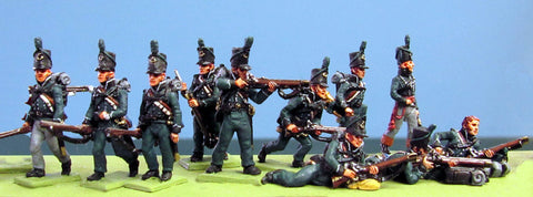 (AB-B16a) Peninsular British Riflemen
