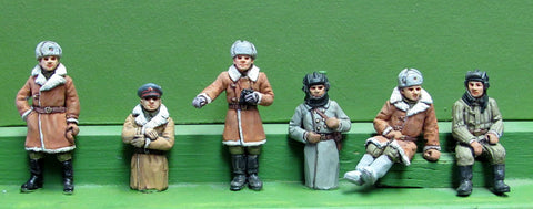 (TCS03) Winter figures (sheepskin coats)