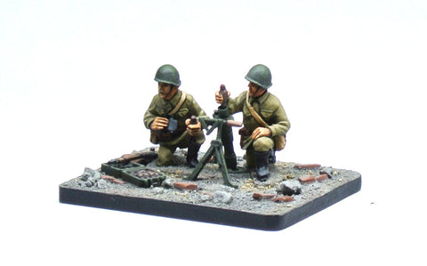 (100WWT011) Soviet 50mm Mortar Team