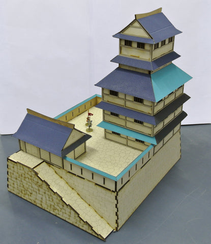 (BAL1022) Samurai Castle 28mm