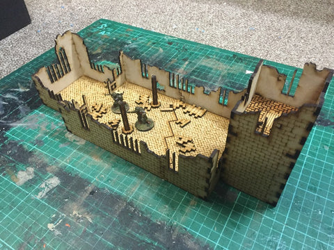 (BAL1011) Ruined Church 28mm
